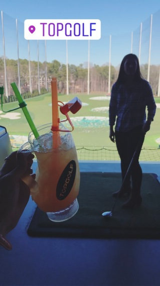 Oh did I mention that you drink while you golf?